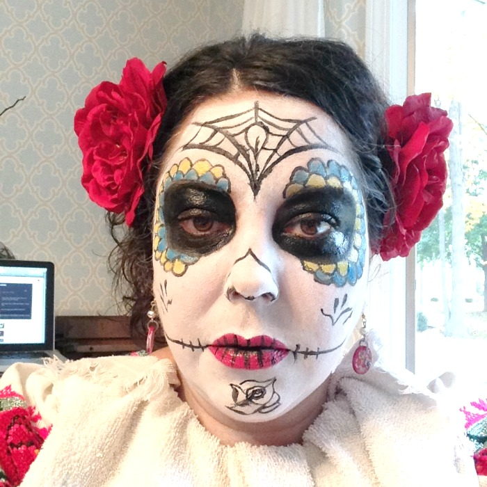 beauty, day of the dead, make up tutorial, dia de los muertos, day of the dead