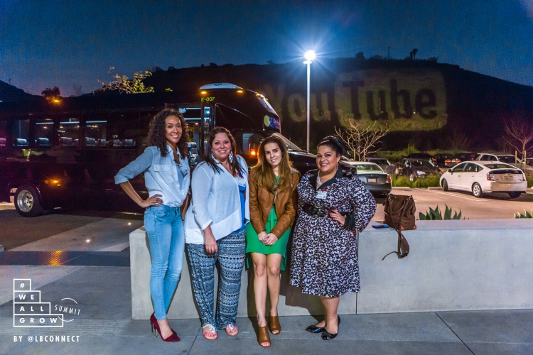 YouTube, YouTube Space L.A., L.A., California, WeAllGrow Summit, Latinas, build a better blog, tips for a better YouTube Channel