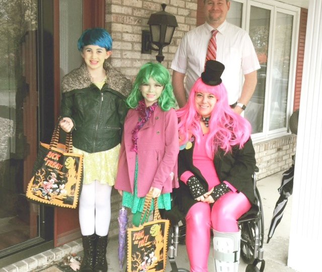 Inside Out, Halloween, trick-or-treating