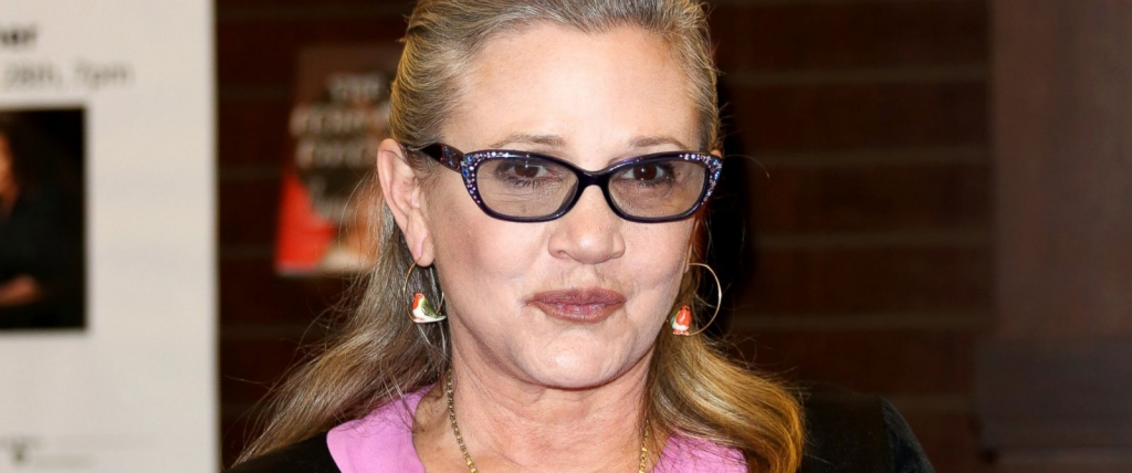 carrie Fisher, bipolar, addiction, Princess Leia, star wars, rogue one