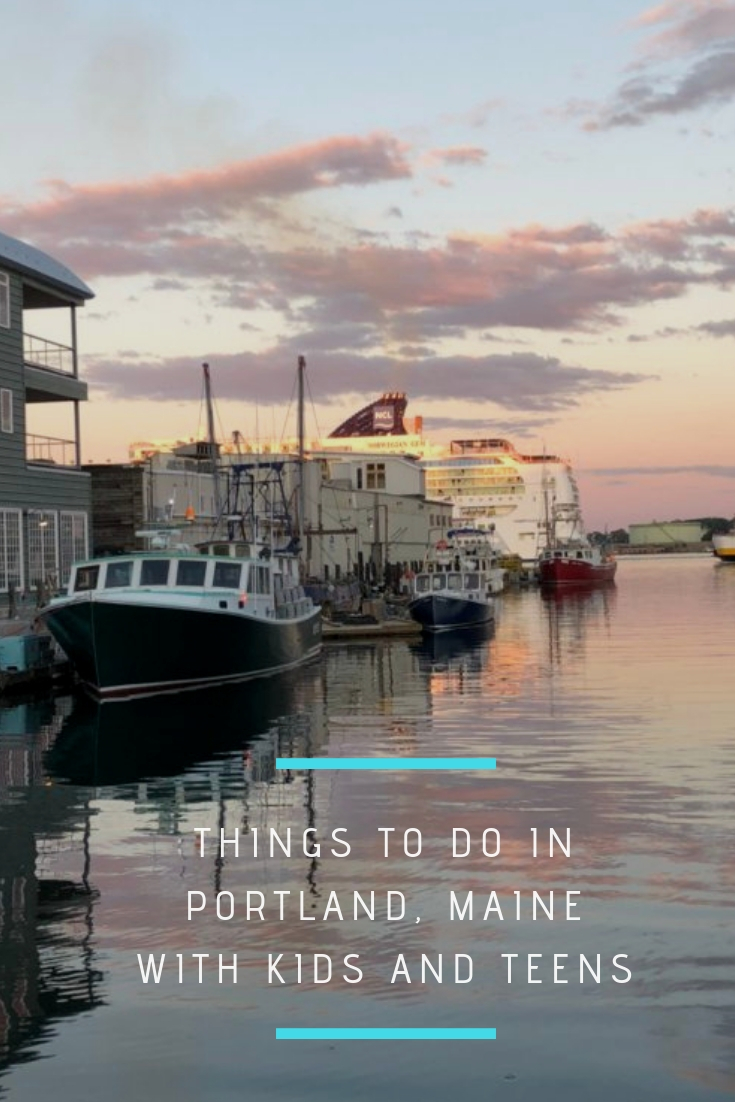 Things to do in Portland Maine with kids and teens, Things to do in Portland Maine this Summer, Portland Schooner Company, Portland, Maine, Holy Donuts, Becky's Diner, The Porthole, Maine Duck Tours, Flatbread Company, Gorgeous Gelato, Holiday In by the Bay, Portland Maine